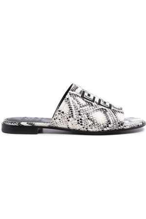 Givenchy Women Sandals - Python-print logo sandals