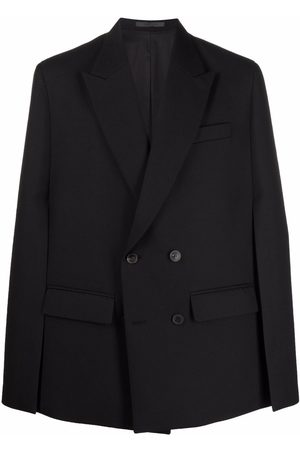 Valentino Men Blazers - Slit-sleeves tailored blazer