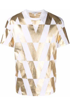 VALENTINO Men T-shirts - Logo print cotton T-shirt