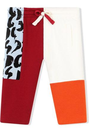 Dolce & Gabbana Sweatpants - Colour-block cotton track pants