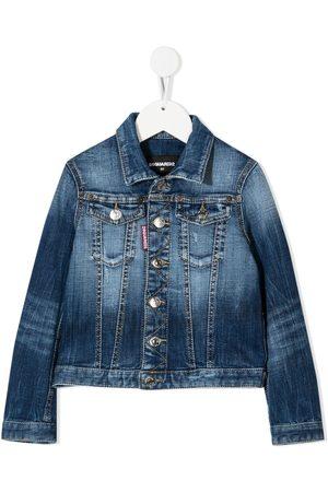 Dsquared2 Denim Jackets - Faded denim jacket