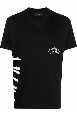 AMIRI Men Short Sleeve - Logo star-print short-sleeve T-shirt