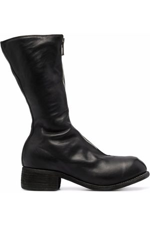 GUIDI Women Boots - Zip-up leather boots