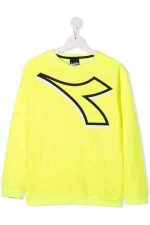 Diadora Long sleeves - Logo long-sleeve sweatshirt