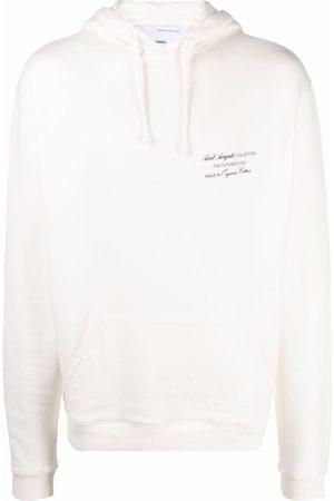 Axel Arigato Men Hoodies - Logo-print organic cotton hoodie