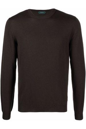 ZANONE Men Sweatshirts - Crew neck knitted jumper