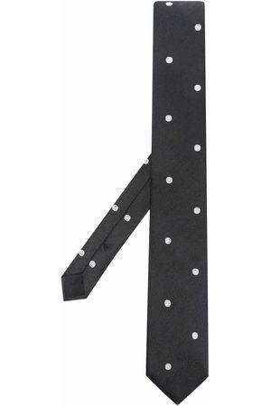 Saint Laurent Men Bow Ties - Polka-dot print tie