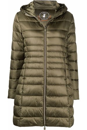 save the duck Hooded quilted coat