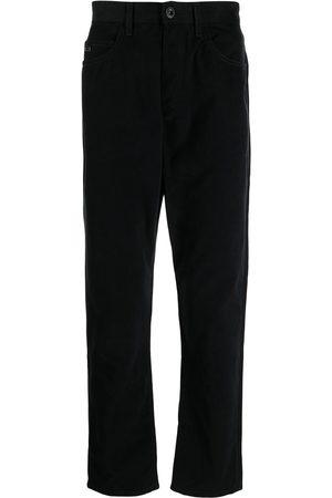 Emporio Armani Men High Waisted - High-waist straight-leg jeans