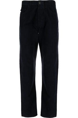 Emporio Armani Men High Waisted - High-waist straight-leg trousers