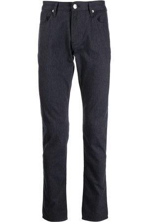 Emporio Armani Men Slim - Mid-rise slim-fit jeans - F924 NAVY