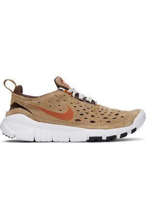 Nike Men Sneakers - Brown Free Run Trail Sneakers
