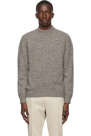 Z Zegna Men Turtlenecks - Wool High Neck Sweater