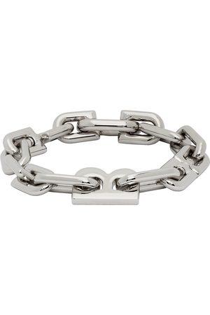 Balenciaga Men Bracelets - Thin B Chain Bracelet