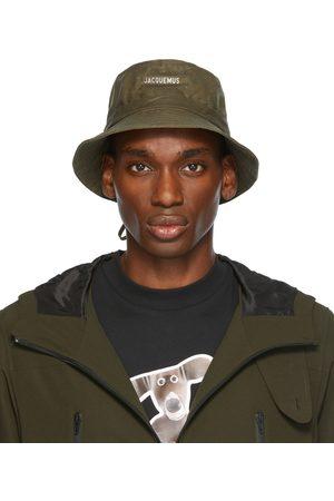 Jacquemus Men Hats - Khaki La Montagne Coated 'Le Bob Gadjo' Bucket Hat