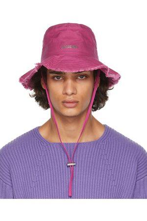 Jacquemus Men Hats - Pink 'Le Bob Artichaut' Hat