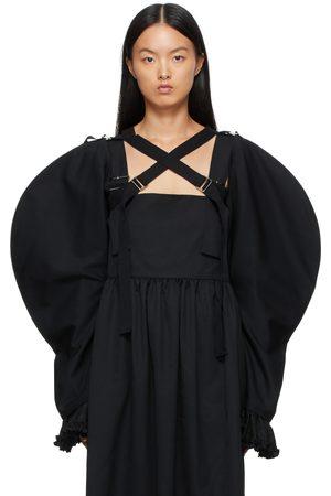 Comme des Garçons Women Boleros - Wool Cross Buckle Bolero