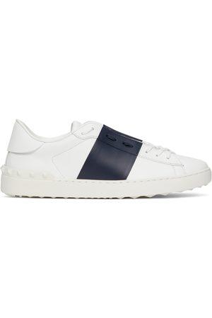 VALENTINO GARAVANI Men Sneakers - White & Black Open Sneakers