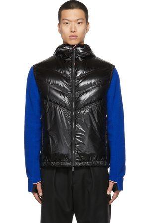 Moncler Men Accessories - Down Ripstop Salantin Hooded Vest