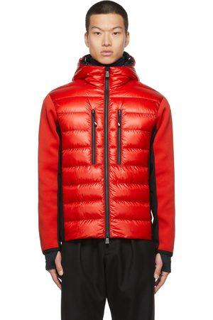 Moncler Men Jackets - Down Paneled Hooded Jacket
