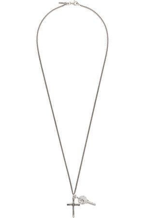 EMANUELE BICOCCHI Men Necklaces - Cross & Key Pendant Necklace