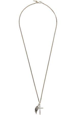 EMANUELE BICOCCHI Men Necklaces - Wing & Cross Necklace