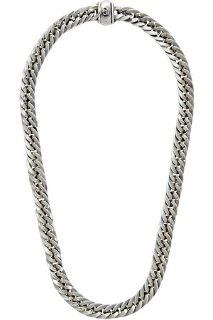 EMANUELE BICOCCHI Men Necklaces - SSENSE Exclusive Herringbone Chain Necklace