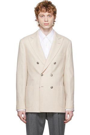 Brunello Cucinelli Men Blazers - Beige Classic Blazer
