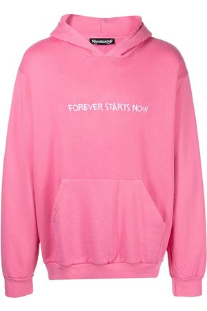 NASASEASONS Men Hoodies - Forever Starts Now embroidered hoodie