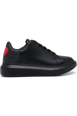 Love Moschino Women Sneakers - Heart detail 40mm low-top sneakers