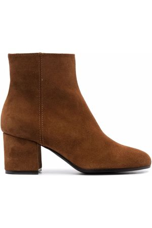Via Roma Women Ankle Boots - Ankle-length leather boots