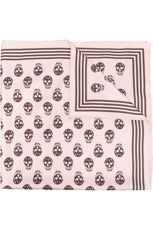 Alexander McQueen Women Scarves - Skull-print silk scarf