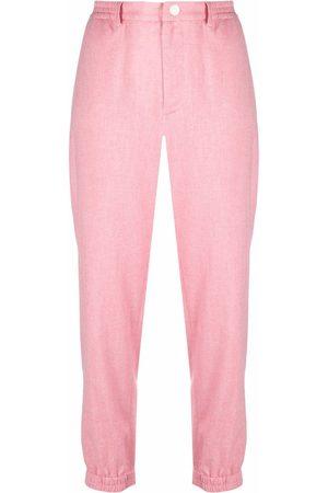 ROSEANNA Women Straight Leg Pants - Mid-rise straight-leg trousers