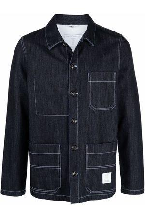 SOCIÉTÉ ANONYME Work denim shirt jacket