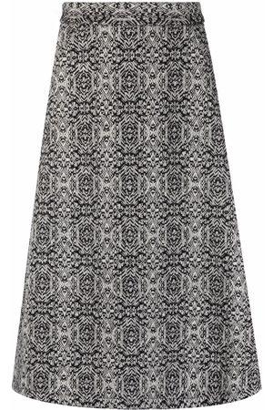 SOCIÉTÉ ANONYME Women Printed Skirts - Knit pattern A-line skirt