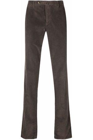 PT01 Men Straight Leg Pants - Straight-leg corduroy trousers