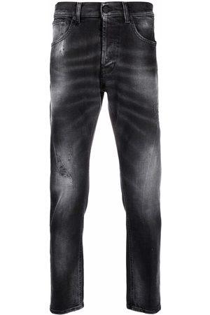 Dondup Mis-rise straight leg jeans - Grey