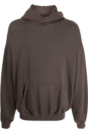 Haider Ackermann Men Long sleeves - Drop-shoulder long-sleeve hoodie - Grey