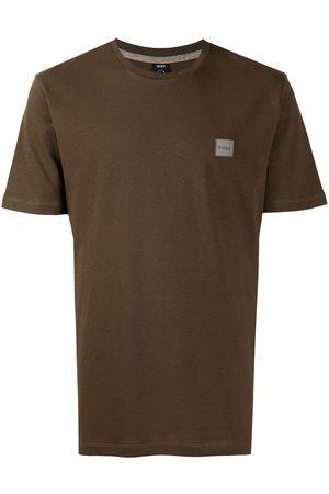 HUGO BOSS Logo-patch short-sleeve T-shirt