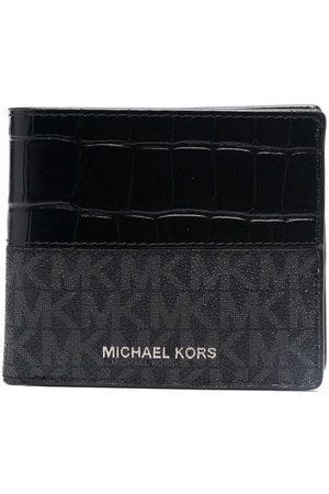 Michael Kors Monogram bi-fold wallet