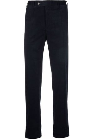CANALI Corduroy regular fit trousers