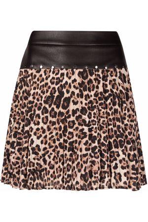 Liu Jo Leopard-print skirt - Neutrals