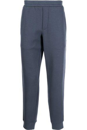 Emporio Armani Side-stripe straight trackpants