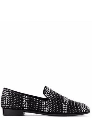 Giuseppe Zanotti Anton crystal-embellished loafers
