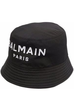 Balmain Logo-print bucket hat