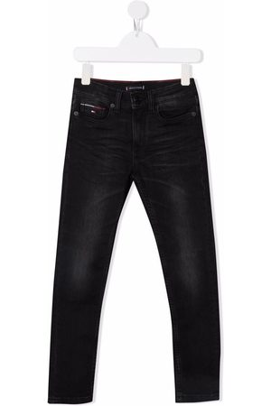 Tommy Hilfiger Brushed straight-leg jeans