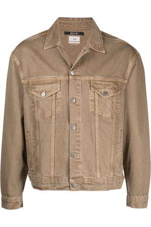 KSUBI Button-up denim jacket