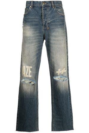KSUBI Distressed denim jeans
