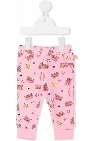 Billieblush Baby Sweatpants - Graphic-print track trousers