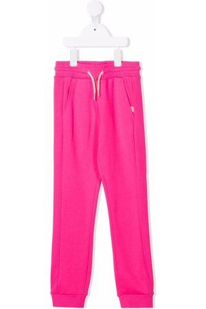 Billieblush Drawstring-waist track trousers